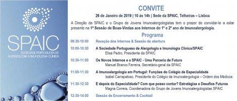1ª SESSÃO DE BOAS-VINDAS INTERNOS DO 1º E 2º ANO DE IMUNOALERGOLOGIA