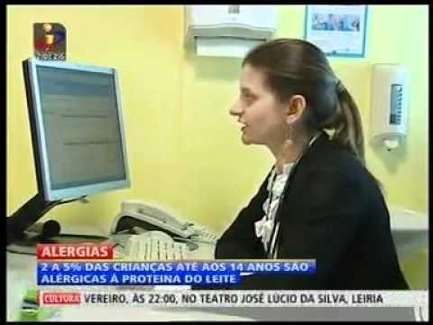 Alergia Alimentar - Jornal Nacional - TVI