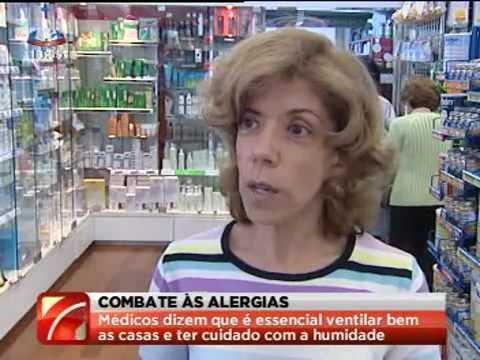 Medidas para combater alergénicos - Jornal da Noite SIC
