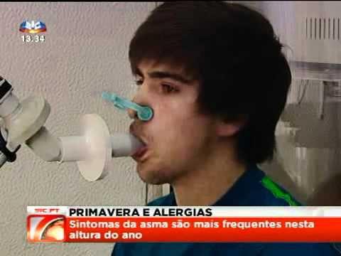 Primavera e Alergias - SIC