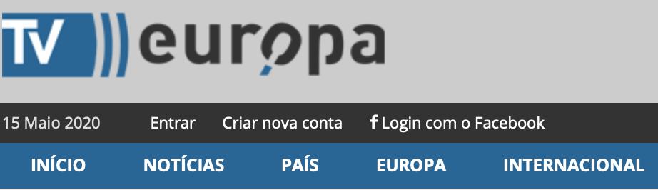 TV-Europa -  Doentes asmáticos ou com rinite e COVID-19 16/03/2020