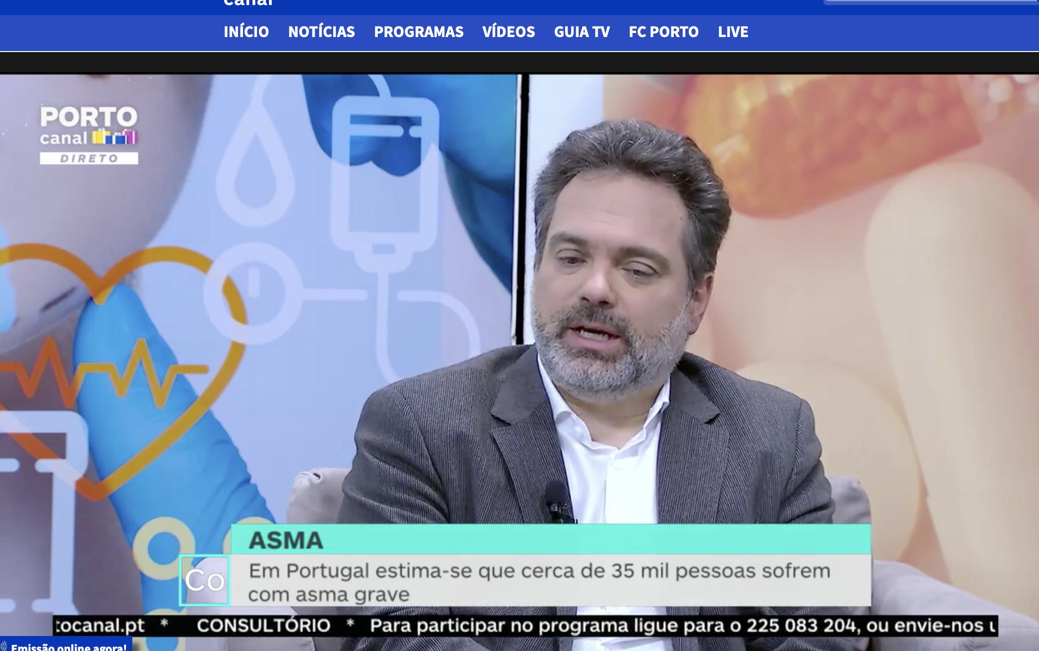 Asma - Porto Canal 18/12/19- Prof. João Fonseca