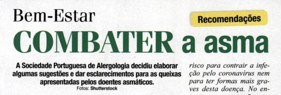 Revista Mariana - Combater a Asma