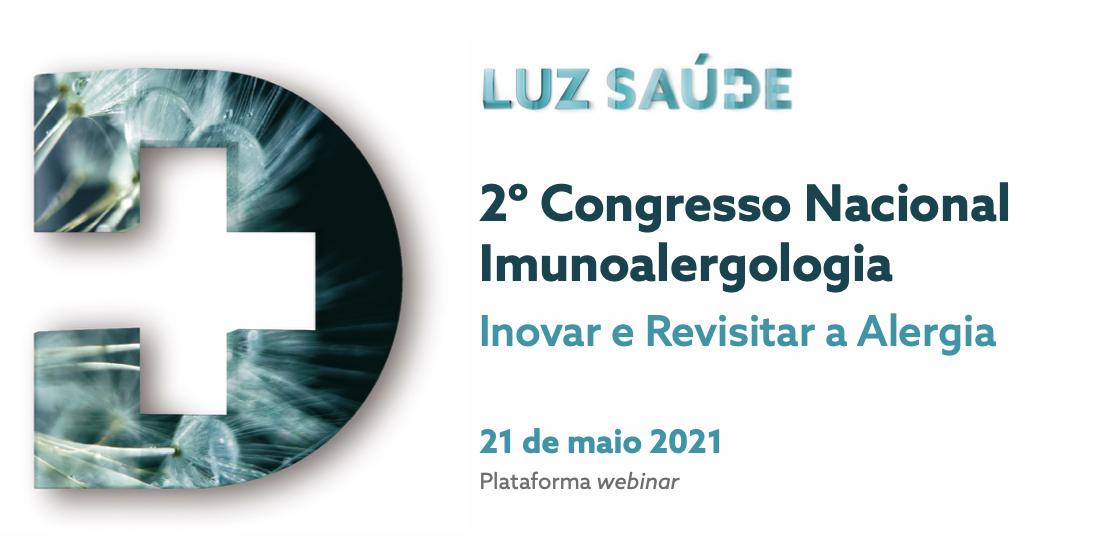 2º Congresso Nacional de Imunoalergologia - Luz Saúde