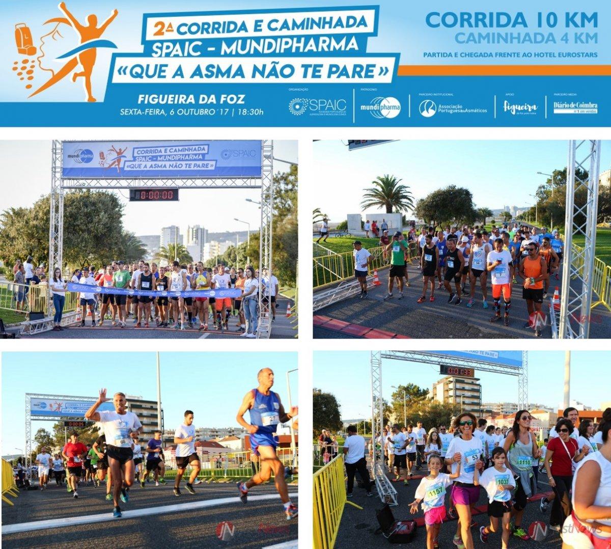 """2ª Corrida e Caminhada SPAIC – Mundipharma """"Que a asma não te pare"""""""