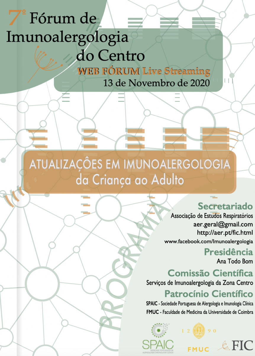 7º Fórum de Imunoalergologia do Centro