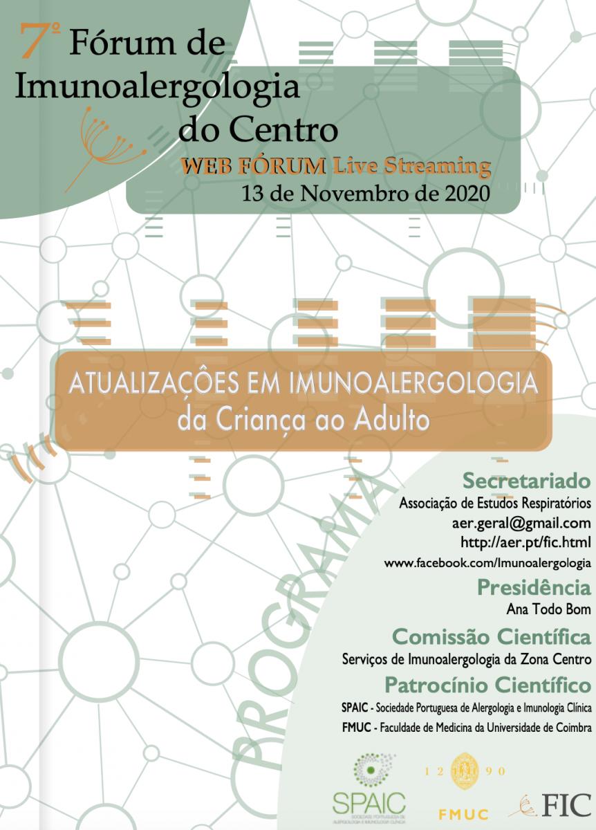 7º Fórum de Imunoalergologia do Centro