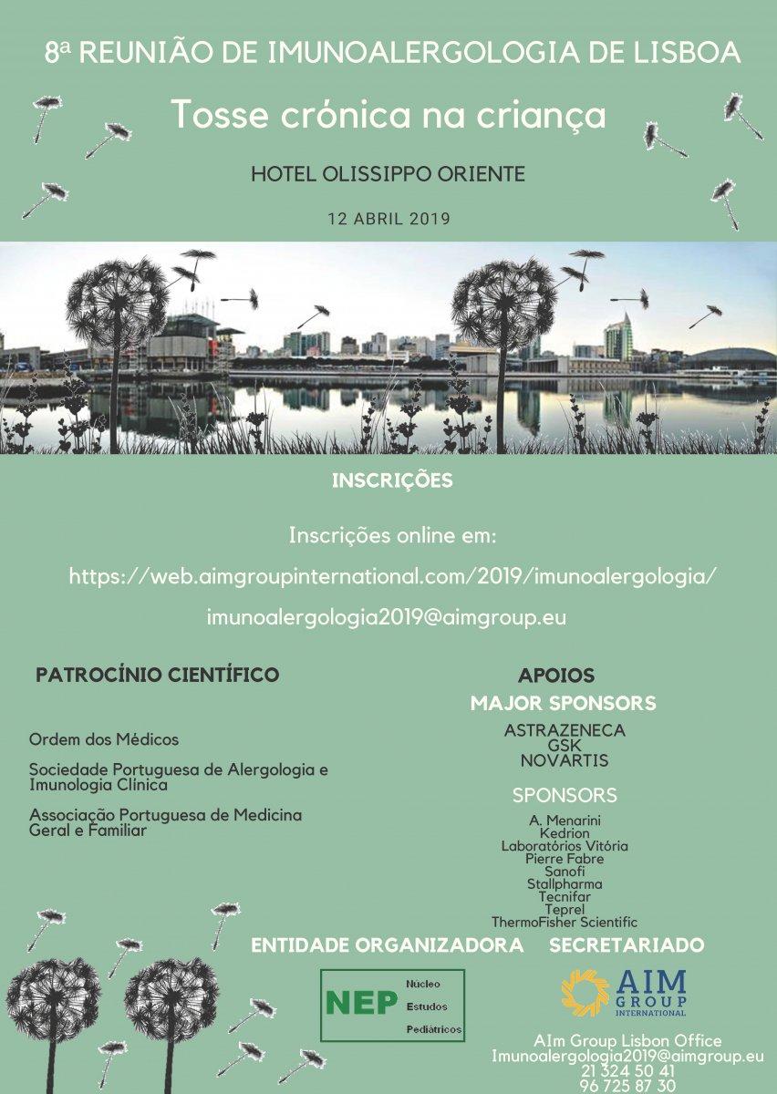 8ª Reunião de Imunoalergologia de Lisboa