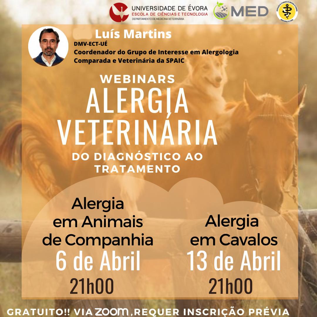 Alergia Veterinária - do diagnóstico ao tratamento
