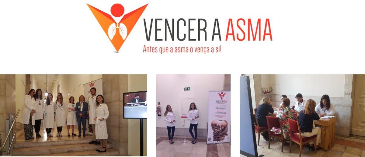 """CAMPANHA """"VENCER A ASMA"""" NA ASSEMBLEIA DA REPÚBLICA – 17 DE OUTUBRO DE 2018"""