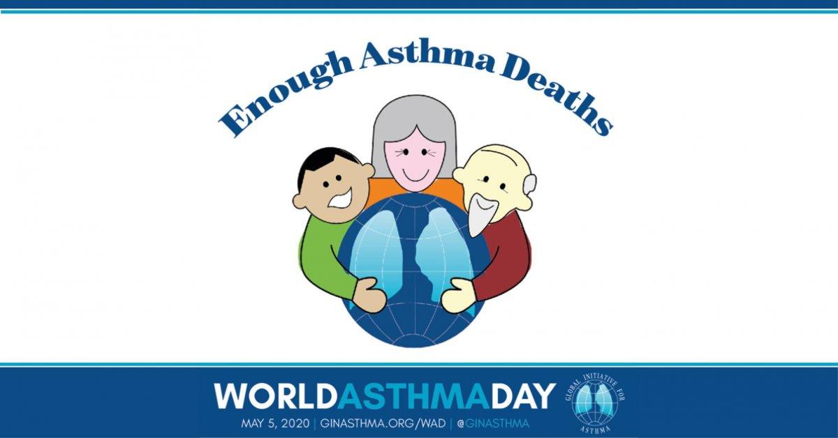 Dia Mundial da Asma - 5 Maio de 2020