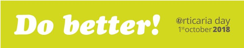 Dia Mundial da Urticária 2018 – Faça Melhor!
