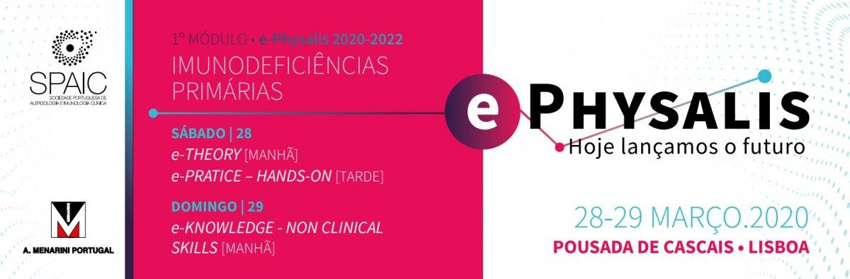 e-Physalis 2020-2022 - Lançamento do Novo Triénio