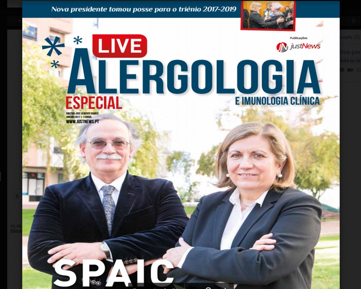 Edição especial da revista Live Alergologia e Imunologia Clínica