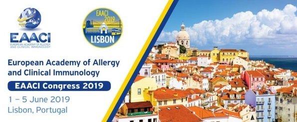 Faltam poucas semanas para o EAACI Congress 2019 em Lisboa