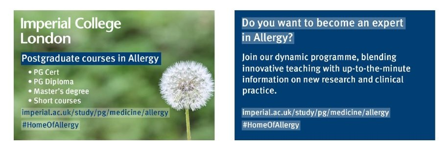 Imperial College London – Postgraduate courses in Allergy