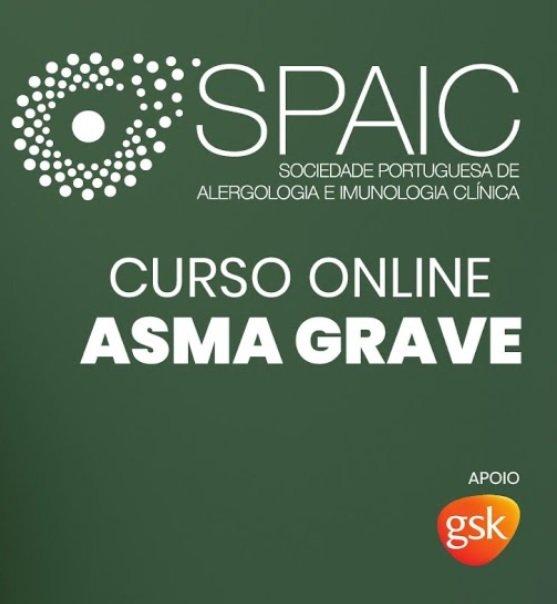 Novo curso on-line SPAIC-GSK em Asma Grave