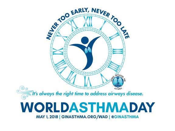 Dia Mundial da Asma 2018 -