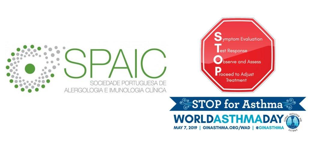 """O Dia Mundial da Asma 2019 terá como tema """"STOP para a Asma"""""""