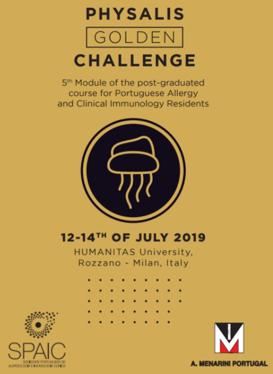 PHYSALIS GOLDEN CHALLENGE – MILÃO, 12 A 14 DE JULHO 2019