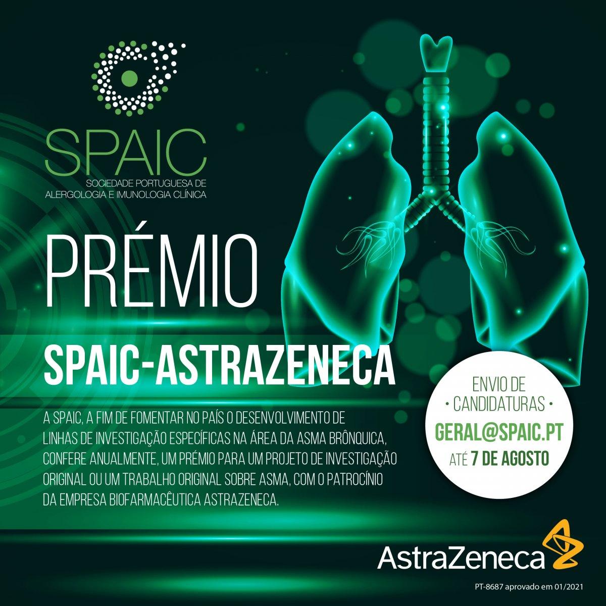 Prémio SPAIC-Astrazeneca