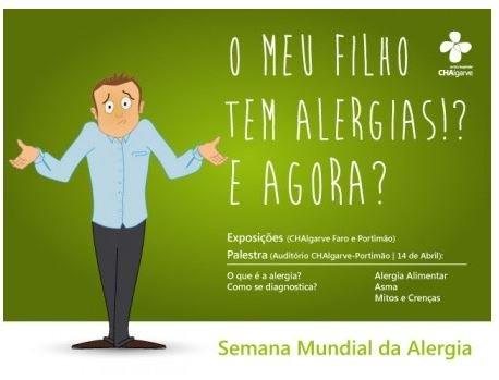 Semana Mundial da Alergia - Especialistas esclarecem pais sobre alergias nas crianças