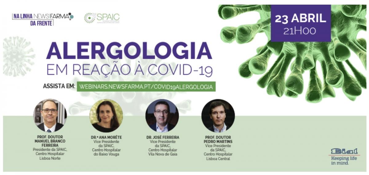 WEBINAR Alergologia- COVID 19