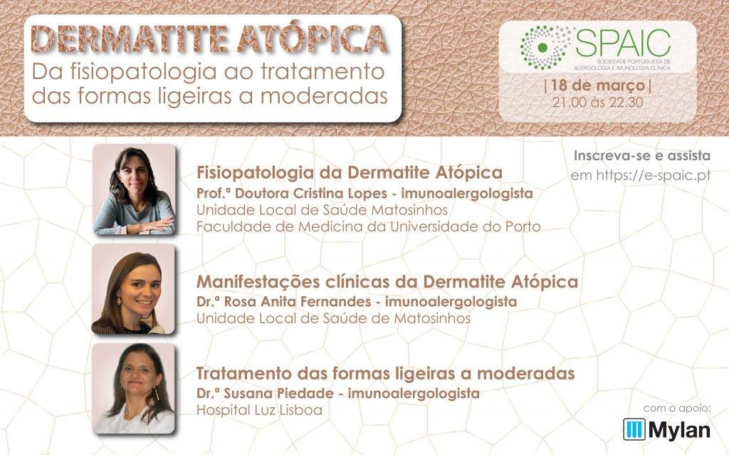 Webinar - dermatite atópica, da fisiopatologia ao tratamento